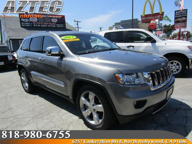 2013 Jeep Grand Cherokee For Sale At Aztec Motors In North Hollywood CA