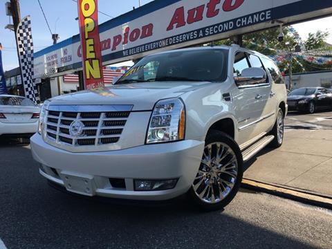 2010 Cadillac Escalade ESV for sale in Utica, NY