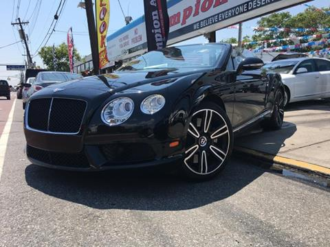 2013 Bentley Continental GTC V8 for sale in Utica, NY