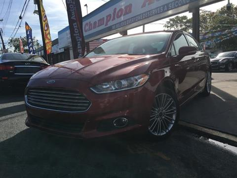 2014 Ford Fusion for sale in Utica, NY