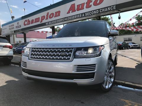2014 Land Rover Range Rover for sale in Brooklyn, NY