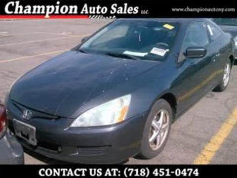 2005 Honda Accord for sale in Brooklyn, NY
