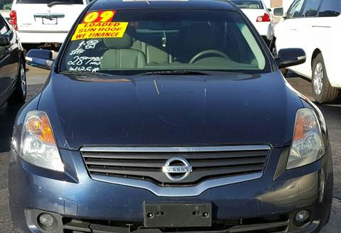 2009 Nissan Altima for sale at MAUS MOTORS in Hazel Crest IL
