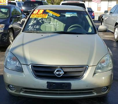 2003 Nissan Altima for sale at MAUS MOTORS in Hazel Crest IL