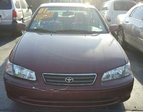 2001 Toyota Camry for sale at MAUS MOTORS in Hazel Crest IL