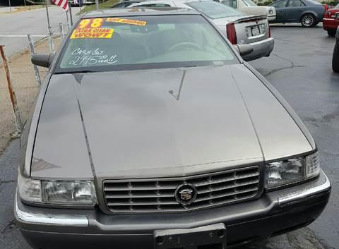 1998 Cadillac Eldorado for sale at MAUS MOTORS in Hazel Crest IL