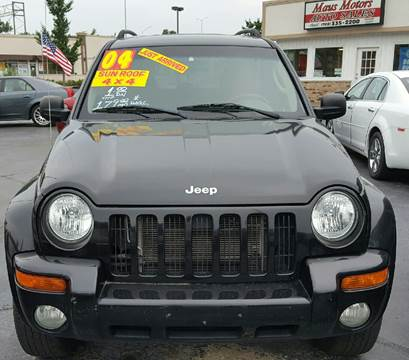 2004 Jeep Liberty for sale at MAUS MOTORS in Hazel Crest IL