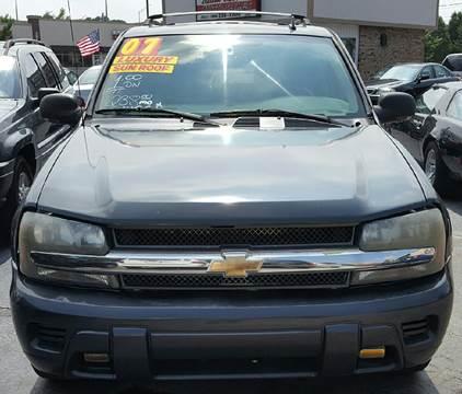 2007 Chevrolet TrailBlazer for sale at MAUS MOTORS in Hazel Crest IL