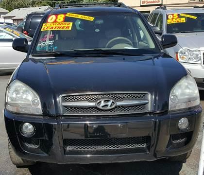 2008 Hyundai Tucson for sale at MAUS MOTORS in Hazel Crest IL