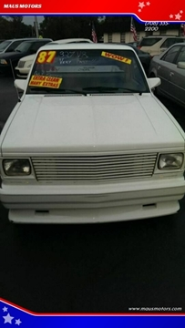 1987 GMC S-15 for sale in Hazel Crest, IL