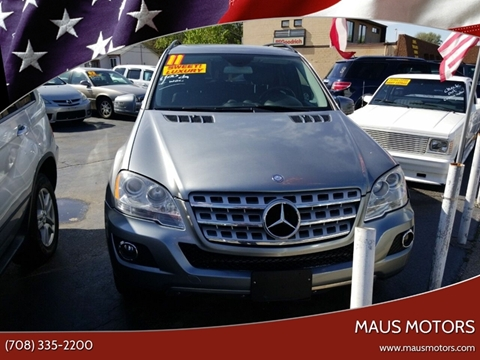 2011 Mercedes-Benz M-Class for sale at MAUS MOTORS in Hazel Crest IL