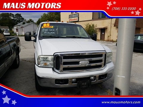 2005 Ford F-350 Super Duty for sale at MAUS MOTORS in Hazel Crest IL
