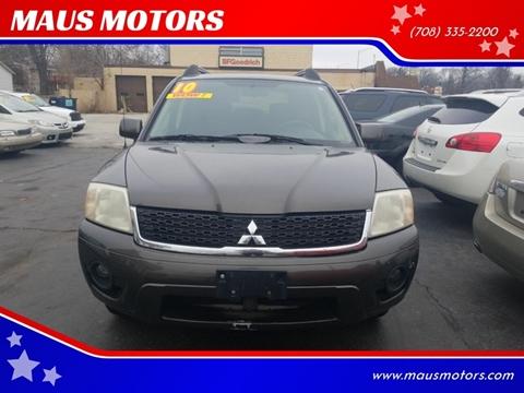 2010 Mitsubishi Endeavor for sale at MAUS MOTORS in Hazel Crest IL
