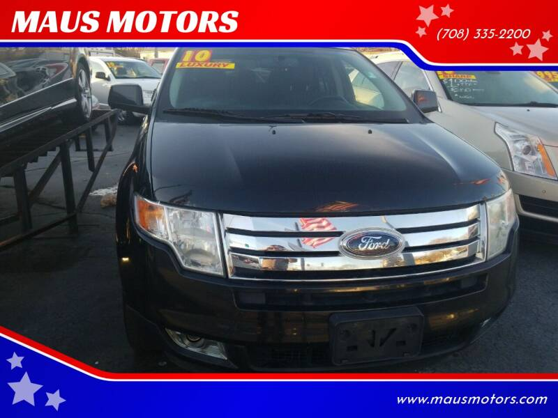 2010 Ford Edge for sale at MAUS MOTORS in Hazel Crest IL