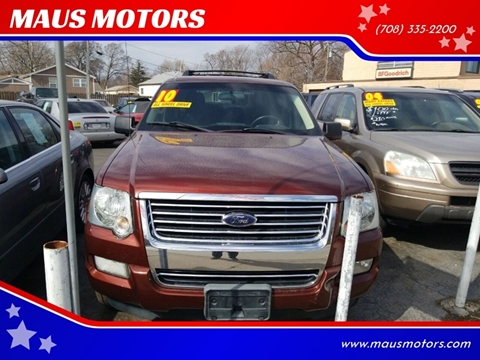 2010 Ford Explorer for sale at MAUS MOTORS in Hazel Crest IL