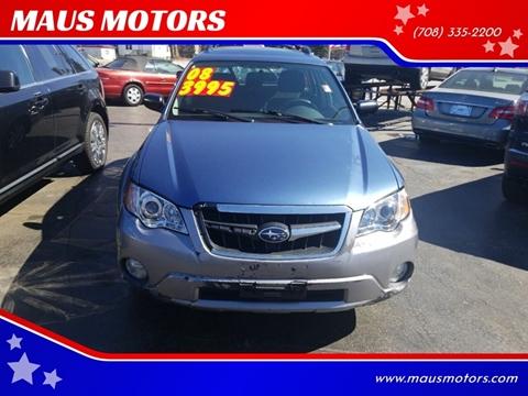 2008 Subaru Outback 2.5i for sale at MAUS MOTORS in Hazel Crest IL