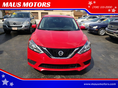 2018 Nissan Sentra for sale at MAUS MOTORS in Hazel Crest IL