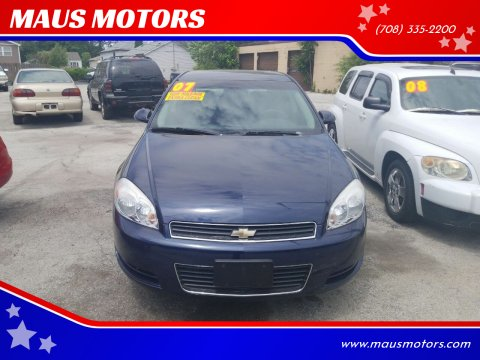 2007 Chevrolet Impala for sale at MAUS MOTORS in Hazel Crest IL