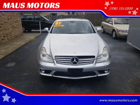 2007 Mercedes-Benz CLS CLS 550 for sale at MAUS MOTORS in Hazel Crest IL