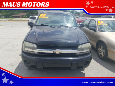2002 Chevrolet TrailBlazer for sale at MAUS MOTORS in Hazel Crest IL