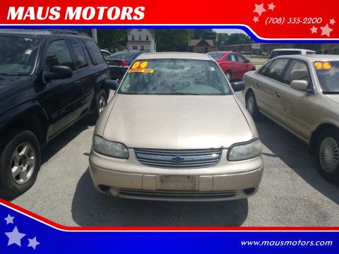 2004 Chevrolet Classic for sale at MAUS MOTORS in Hazel Crest IL