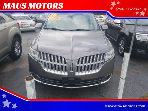 2010 Lincoln MKT for sale at MAUS MOTORS in Hazel Crest IL