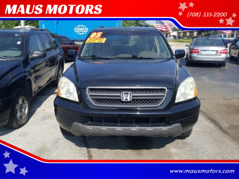 2005 Honda Pilot for sale at MAUS MOTORS in Hazel Crest IL
