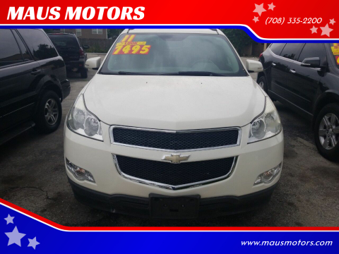 2011 Chevrolet Traverse for sale at MAUS MOTORS in Hazel Crest IL
