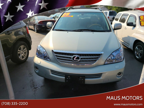 2008 Lexus RX 400h for sale at MAUS MOTORS in Hazel Crest IL