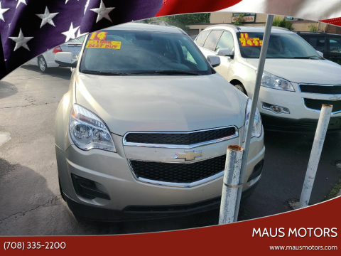 2014 Chevrolet Equinox for sale at MAUS MOTORS in Hazel Crest IL