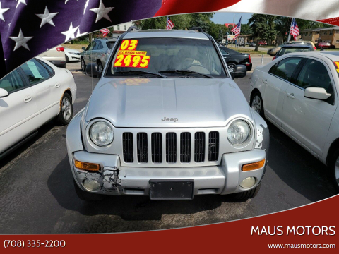 2003 Jeep Liberty for sale at MAUS MOTORS in Hazel Crest IL