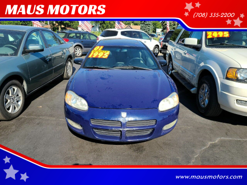 2001 Dodge Stratus for sale at MAUS MOTORS in Hazel Crest IL