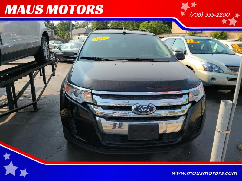 2013 Ford Edge for sale at MAUS MOTORS in Hazel Crest IL