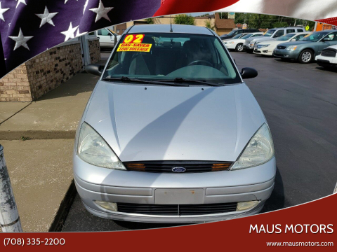 2002 Ford Focus for sale at MAUS MOTORS in Hazel Crest IL