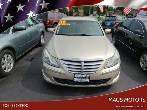 2012 Hyundai Genesis for sale at MAUS MOTORS in Hazel Crest IL
