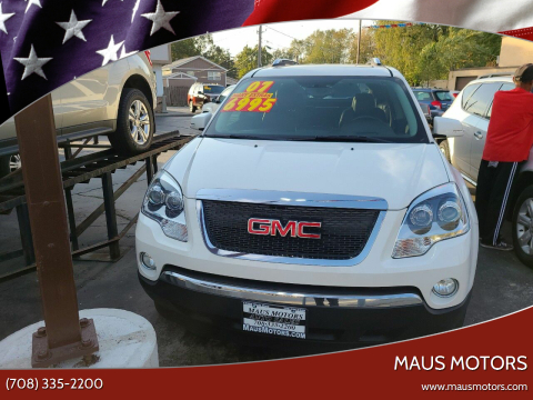 2007 GMC Acadia for sale at MAUS MOTORS in Hazel Crest IL