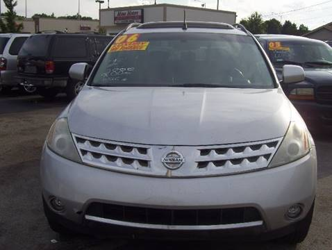 2006 Nissan Murano for sale at MAUS MOTORS in Hazel Crest IL
