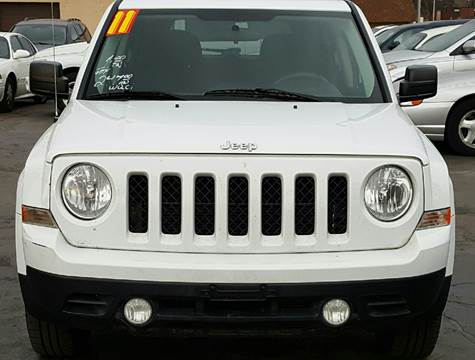 2011 Jeep Patriot for sale at MAUS MOTORS in Hazel Crest IL
