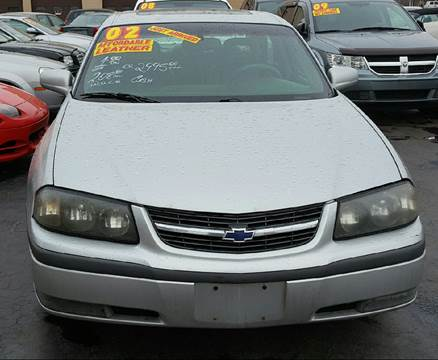 2002 Chevrolet Impala for sale at MAUS MOTORS in Hazel Crest IL