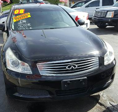 2008 Infiniti G35 for sale at MAUS MOTORS in Hazel Crest IL