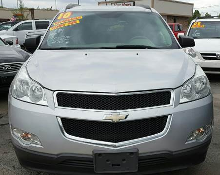 2010 Chevrolet Traverse for sale at MAUS MOTORS in Hazel Crest IL