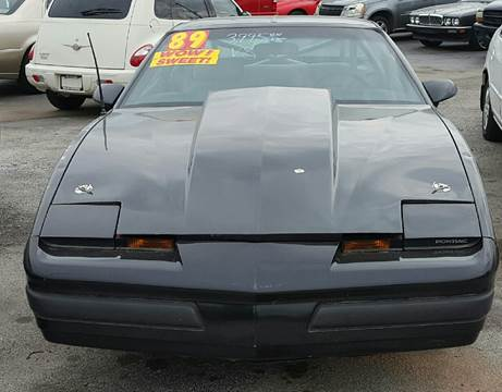 1989 Pontiac Firebird for sale at MAUS MOTORS in Hazel Crest IL