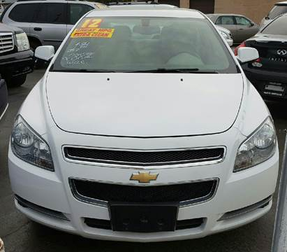 2012 Chevrolet Malibu for sale at MAUS MOTORS in Hazel Crest IL