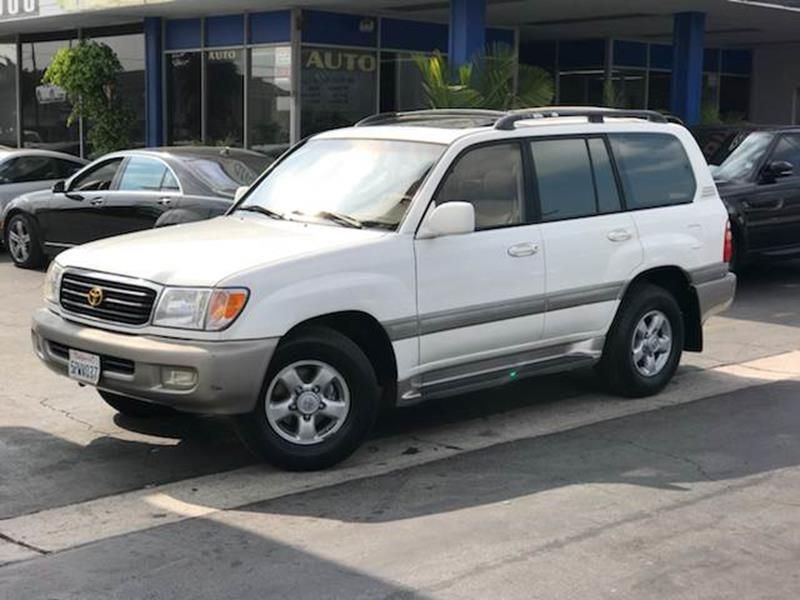 2000 Toyota Land Cruiser For Sale At Euro Zone Auto LLC In Buena Park CA