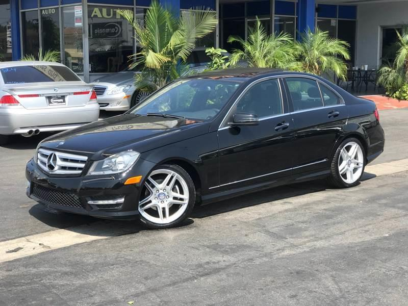 2013 Mercedes Benz C Class For Sale At Euro Zone Auto LLC In Buena
