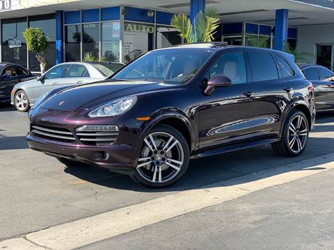 2012 Porsche Cayenne for sale at Euro Zone Auto in Stanton CA