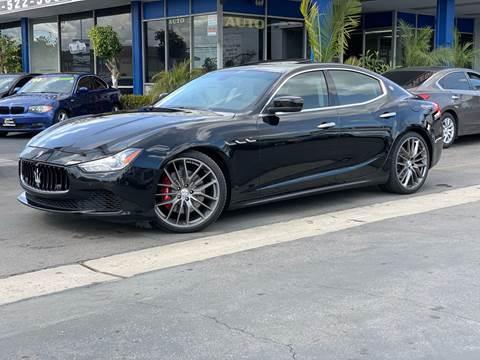 2014 Maserati Ghibli for sale at Euro Zone Auto in Stanton CA