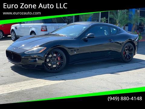 2011 Maserati GranTurismo for sale at Euro Zone Auto in Stanton CA