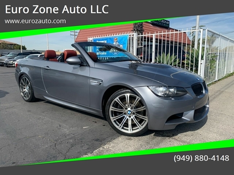 2008 BMW M3 for sale at Euro Zone Auto in Stanton CA
