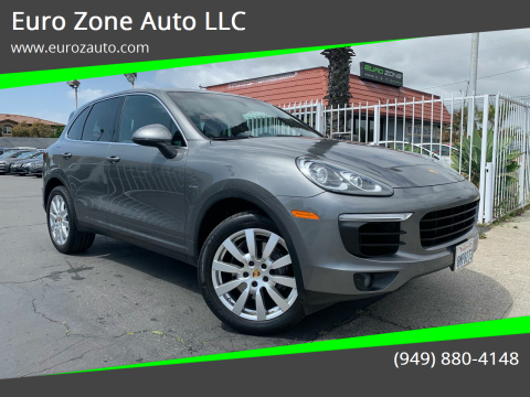 2015 Porsche Cayenne for sale at Euro Zone Auto in Stanton CA